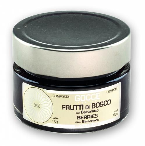 Red Berries Compote with Balsamico - K0612 (130 g - 4.58 oz)